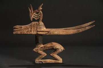 Scultura cerimoniale del popolo Bamana in Mali