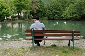 Détente bord du lac