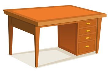 Cartoon Office Desk