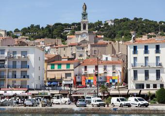 Häuserzeile in Sète