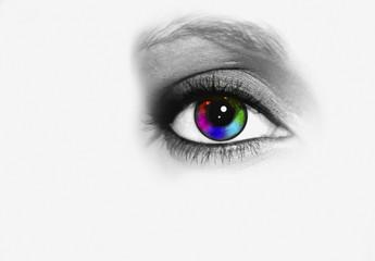 ojo en la fotografía
