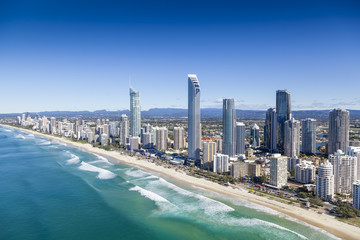 Fototapeta Gold Coast, Queensland, Australia obraz