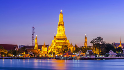 Prang of Wat Arun, Bangkok ,Thailand