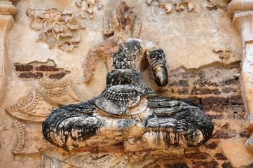 Ancient wat ruins in Chiang Mai,Thailand