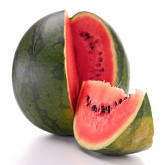 isolated fresh watermelon