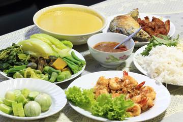 Thai Diner Food