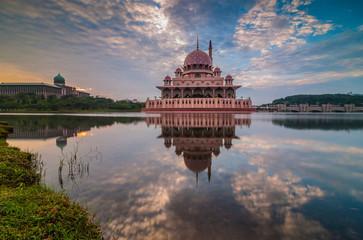 Putra Mosque-sunrise