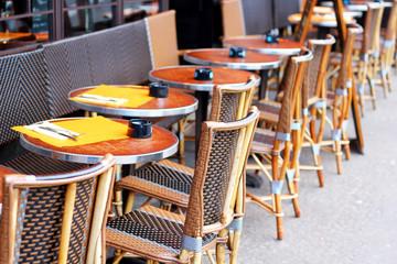 Traditional parisian café