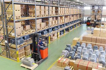 Warenlager in der Industrie // Industry Depot