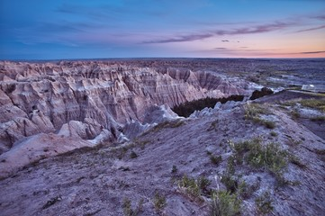 Wall Mural - HDR Badlands Scenic