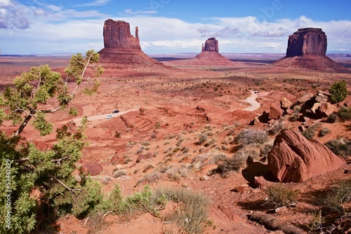 Wall mural Monuments Valley Arizona