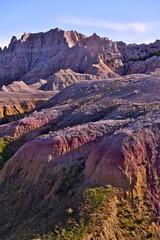 Wall Mural - Badlands Pinnacles and Buttes
