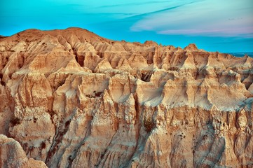 Wall Mural - Badlands Erosion