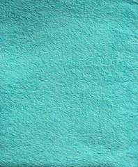 turquoise bath towel surface