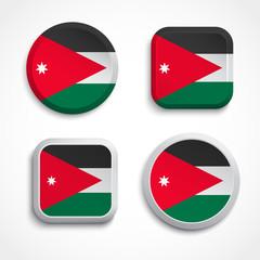 Jordan flag buttons