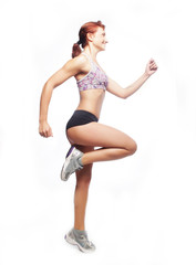 fitness woman instructor