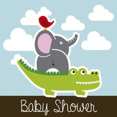 animals baby shower
