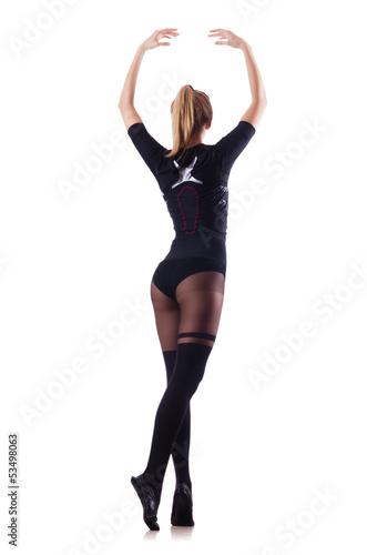 термобелье Данный красивая девушка в колготках танцует других целей можно
