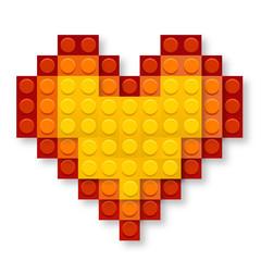 Romantic LEGO Heart
