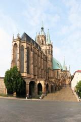 Fototapete - Dom St. Marien Erfurt