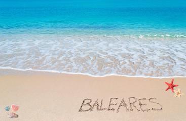 baleares writing