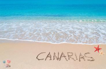 canarias writing