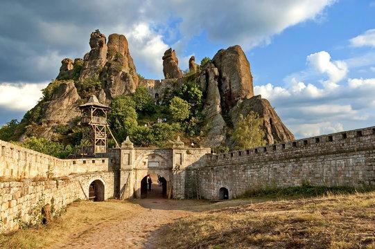 Belogradchik rocks Fortress, Bulgaria, Europe