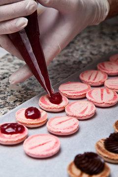 Préparation de macarons #6