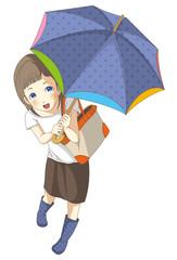 雨 女の子