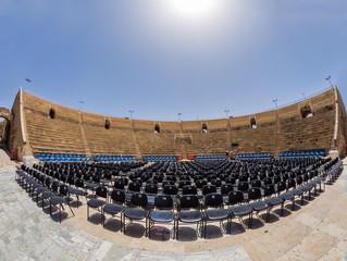 Fototapete - Caesarea theater