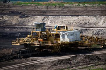 Mining machine - brown coal mine
