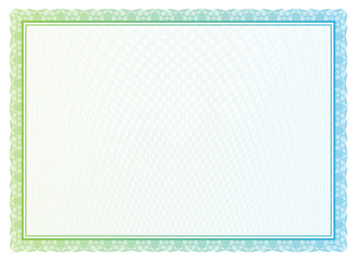 Vector pattern for currency and diplomas