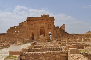 Arc d'Antonin, site archéologique de Sbeïtla