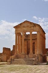 Site archéologique de Sbeïtla, capitole