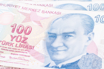 Turkish Lira Banknote
