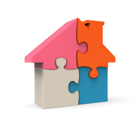 Colorful House Puzzle
