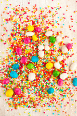 background - coloured candy