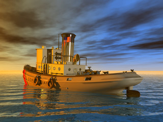 Coast Guard Tug