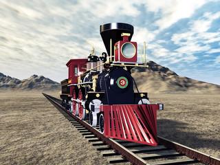 Alte Dampflokomotive
