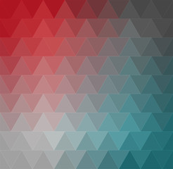 Abstract triangles pattern background.