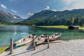 Boote im Jägersee