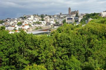 Rodez, ville à la campagne