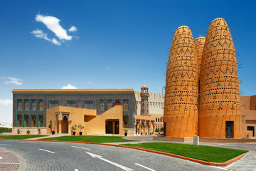 Katara is a cultural village in Doha, Qatar