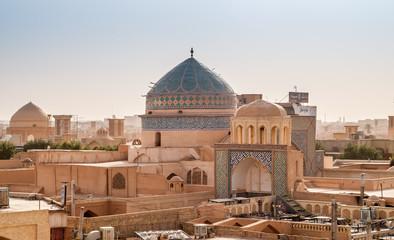 Panorama of Yazd - Desert City
