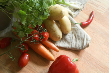 Gemüse Küche