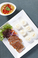 Vietnamese cuisine, Beef rice noodles