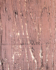 Brown Chipped Paint on Wood