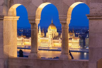 Printed kitchen splashbacks Budapest Historical building of parlament