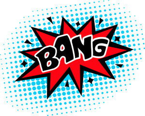 Bang - Comic Sprechblase