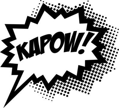 Kapow! Comic Sprechblase
